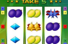 Take 5 joc cu aparate gratis online de la Bally Wulff
