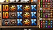 Wild West joc de păcănele online de la Mazooma
