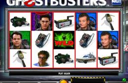 Joc de păcănele distractiv Ghostbusters