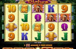 Joc de păcănele online distractiv Mayan Riches