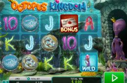 Joc de păcănele distractiv Octopus Kingdom