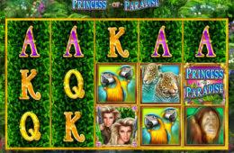 Joc de păcănele gratis fără înregistrare Princess of Paradise