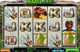 Poză joc de păcănele gratis Rally