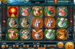 Joc de păcănele fără descărcare 12 Zodiacs de la Habanero