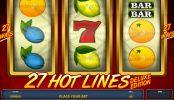 27 Hot Lines Deluxe Edition joc cu aparate gratis