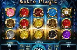 Joacă gratuit jocul de cazino online Astro Magic!