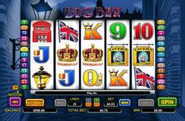 Testează jocul ca la aparate gratuit Big Ben pentru distracție la cote maxime!