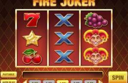 Joc ca la aparate fără depunere Fire Joker