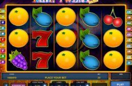 O imagine a jocului de păcănele online Fire Twenty Deluxe