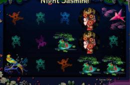 Joc cu aparate online Night Jasmine