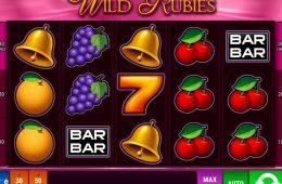Joc de păcănele gratis online distractiv Wild Rubies