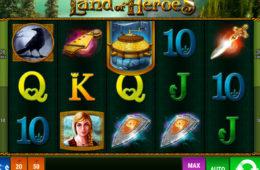 Joc ca la aparate online The Land of Heroes