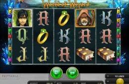 Învârte online jocul cu aparate gratis World of Wizard