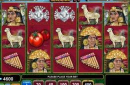 Joacă jocul ca la aparate gratis online Inca Gold II