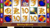 O imagine din joc cu aparate cazino Winning Wizards