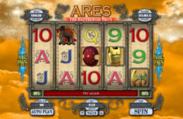 O imagine din joc ca la aparate fără înregistrare Ares