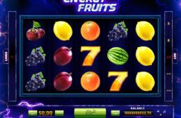 O imagine din jocul de păcănele Energy Fruits online