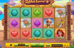 Joc de cazino gratis cu învârtiri Golden Lamp