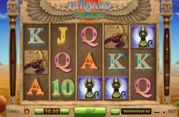 Pyramid Treasure joc de aparate fără depunere