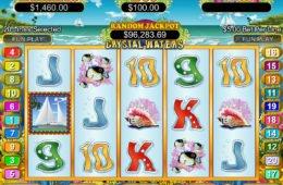Joc de cazino cu învârtiri Crystal Waters online