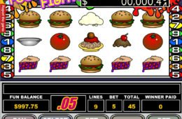 A image of Food FiO imagine din Food Fight joc ca la aparateght slot machine