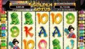 Joc online gratis Golden Lotus de la RTG