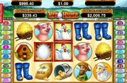 Învârte joc de cazino gratis Hen House