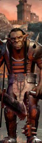 Simbol wild în Orc vs Elf joc ca la aparate online
