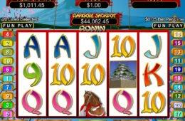 Joc de aparate cazino Ronin online