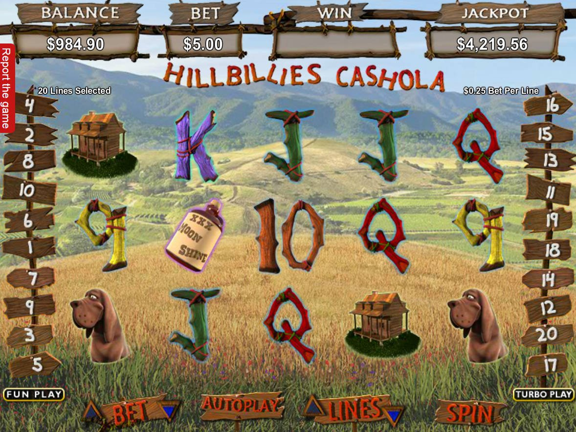 Spiele Hillbillies Cashola - Video Slots Online