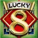 Simbol scatter - joc ca la aparate gratis Lucky 8 fără depunere