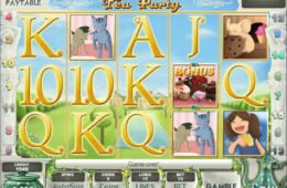 Afternoon Tea Party online free slot
