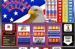 O imagine din joc cu aparate cazino American Eagle