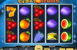 Joc de cazino online Crazy Fruits