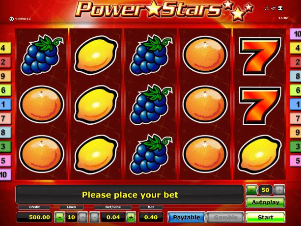 Jocuri Aparate Power Stars