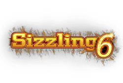 Sizzling 6 joc ca la aparate - logo