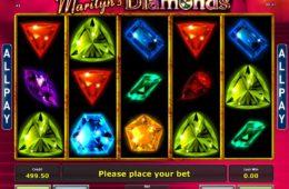 Игровой автомат казино онлайн Marilyn's Diamonds без регистрации