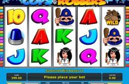 Бесплатный игровой автомат Cops'n Robbers