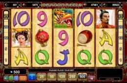 Играть Казино онлайн игровой автомат Dragon Барабанами