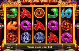 Dragon's Wild Fire бесплатный онлайн игровой автомат для удовольствия