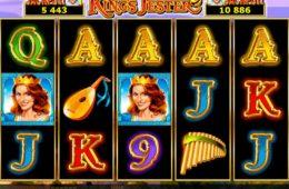 Онлайн казино игровой автомат King's Jester