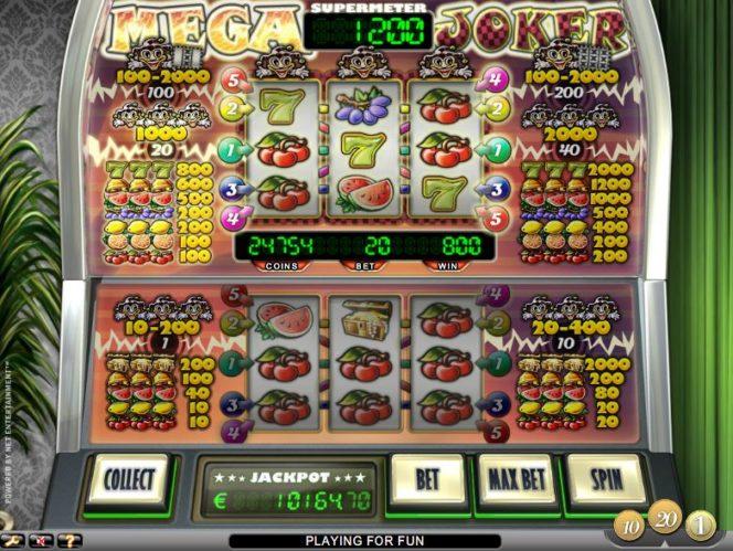 Mega Joker онлайн бесплатный игровой автомат