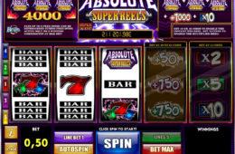 Азартный игровой автомат играть онлайн на деньги Absolute Super Reels