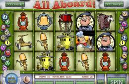 Играть на деньги в автомат All Aboard!