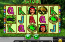 Изображение игрового автомата Amazonia бесплатно без регистрации онлайн