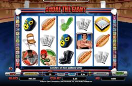 Бесплатный онлайн игровой автомат Andre the Giant
