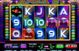Изображение игрового автомата Area 21