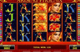Изображение из игрового автомата Arising Phoenix казино вулкан онлайн бесплатно без регистрации