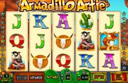 Бесплатный онлайн игровой автомат Armadillo Artie