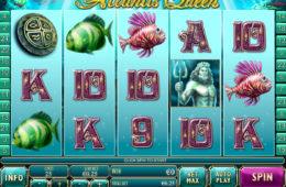 Бесплатный онлайн игровой автомат Atlantis Queen